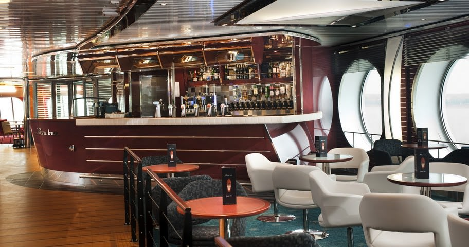 Care for a drink? Stena Line's Superferries offer two bars and restaurants for fine dining.