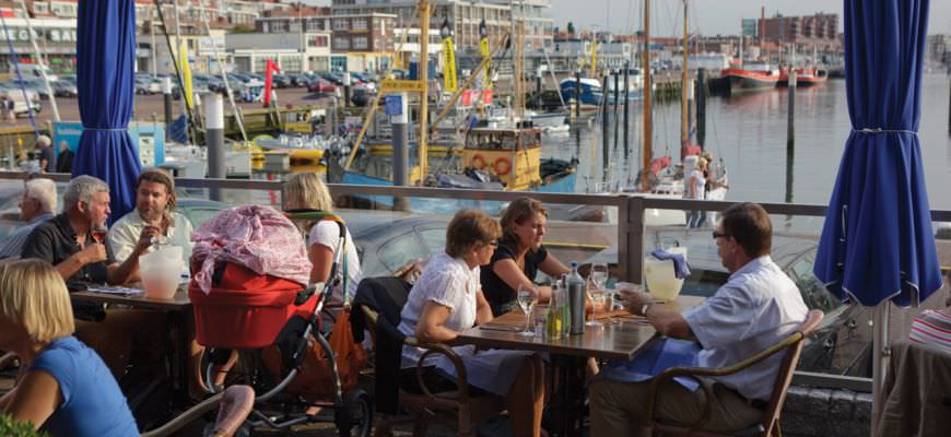Terrace Harbour Scheveningen