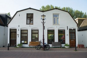 Bike with house front