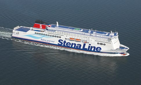 New Stena Hollandica aerial