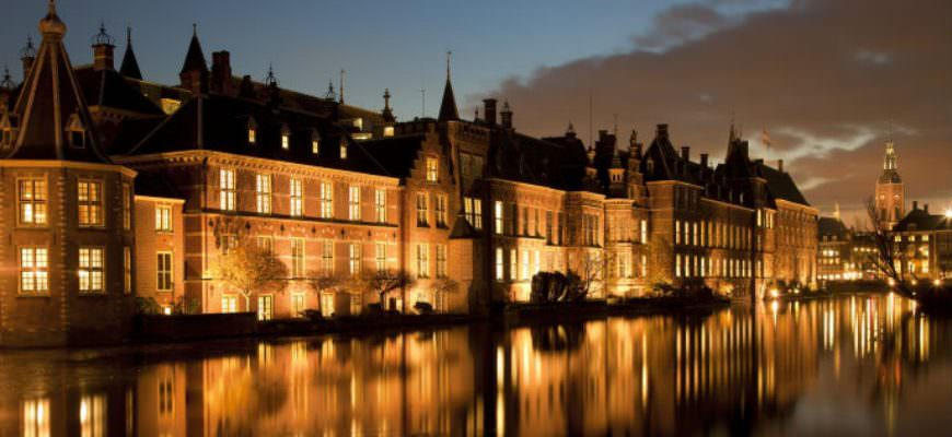 The Hague at Night Time