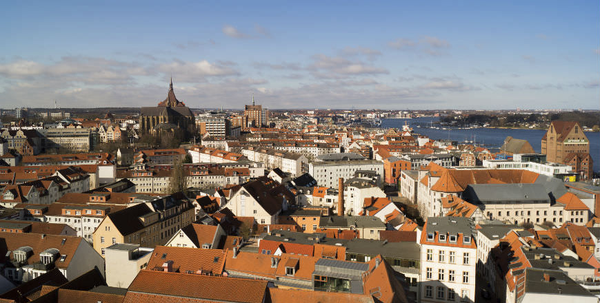 Rostock, the second largest city in the Mecklenburg region