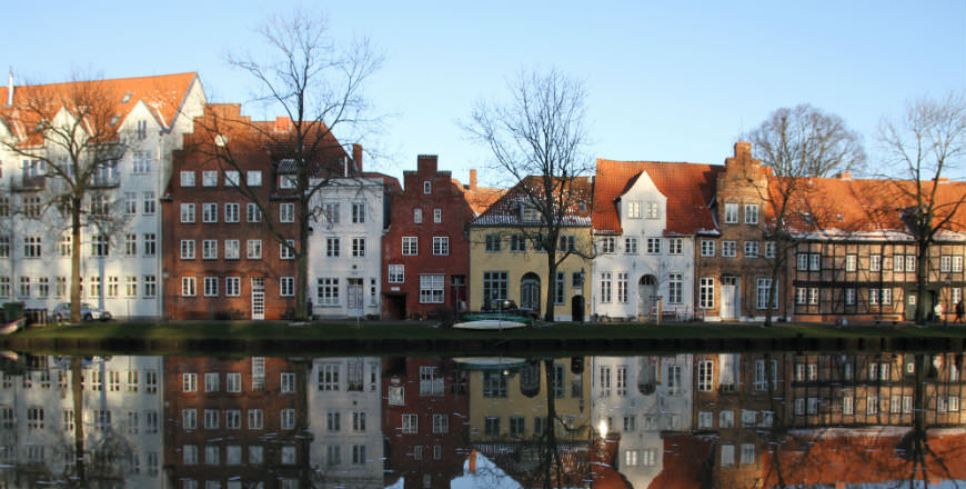 Lubeck home of beautiful Brick Gothic Architecture