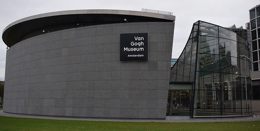 Visit the Van Gogh Museum in Amsterdam