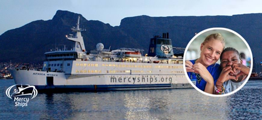 We are proud to announce that Mercy Ships are our new partner