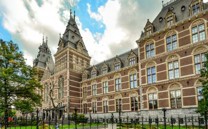 Rijksmuseum, one of the top 3 most popular museums in the World