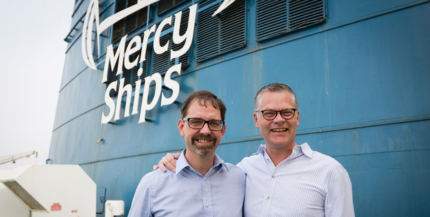 Mercy Ships with Niclas, our CEO