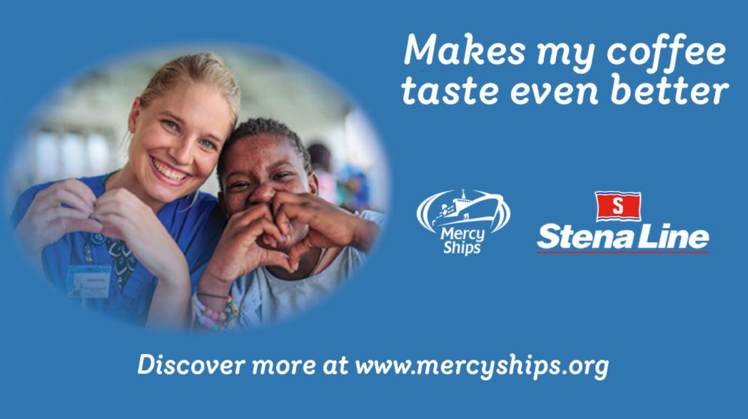 We at Stena Line are proud to be partners with Mercy Ships