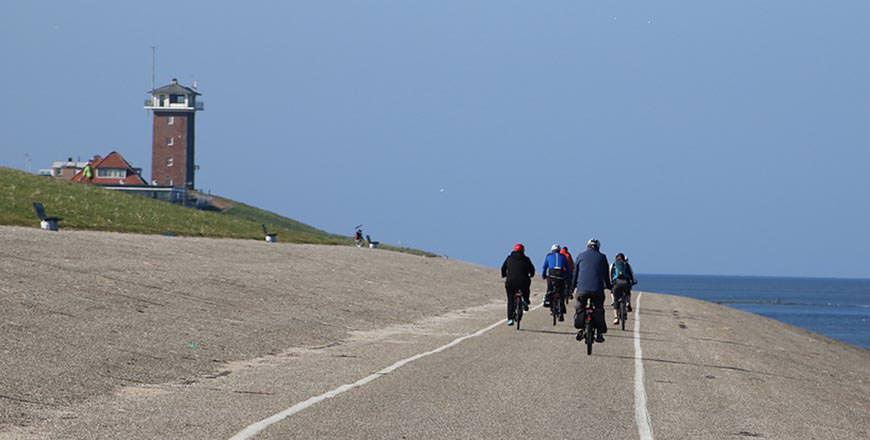Cycling on Texel Island